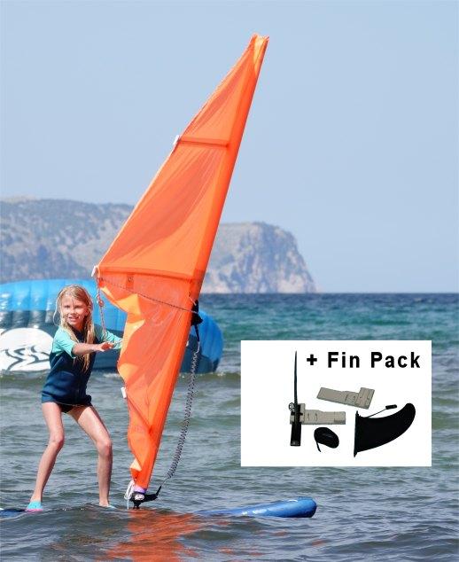 chiildren windsurf sail kit