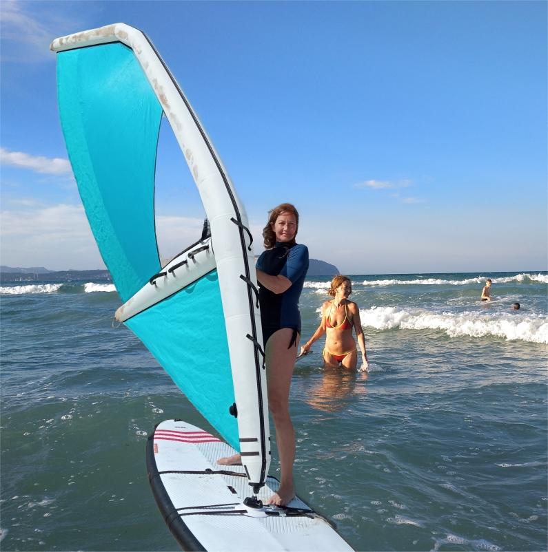 Vela Hinchable Windsurf España